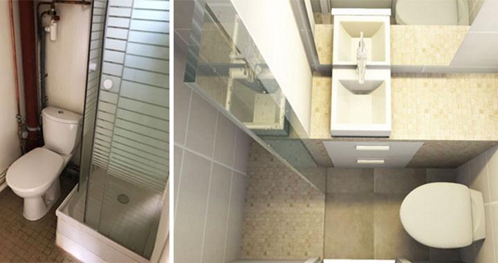 Rénovation et décoration d\'un appartement de 10m2 pour u...