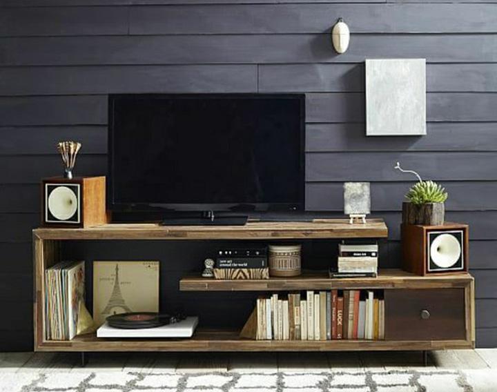 Choisir son meuble tv en bois le guide article de blog - Creer son meuble tv ...