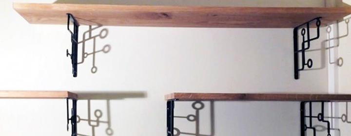 quelques conseils pour r aliser vos tag res sur mesure. Black Bedroom Furniture Sets. Home Design Ideas