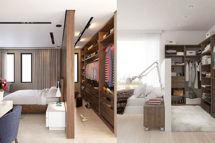 am nagement de dressing comment optimiser l espace de. Black Bedroom Furniture Sets. Home Design Ideas