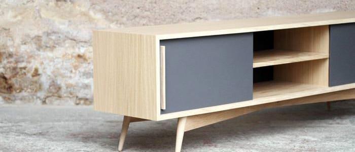meuble tv sur mesure. Black Bedroom Furniture Sets. Home Design Ideas