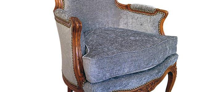 Restauration de fauteuil